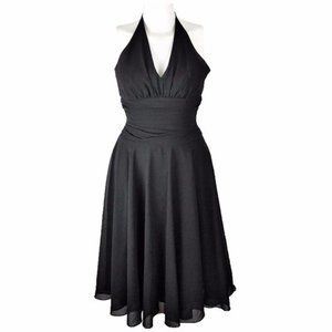 Vintage 90's Jessica McClintock (4) Black Dress